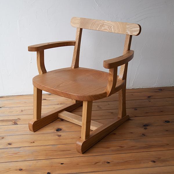 座椅子(肘掛け付き)写真1