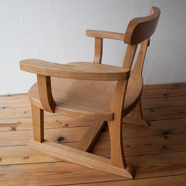 座椅子(肘掛け付き)写真2