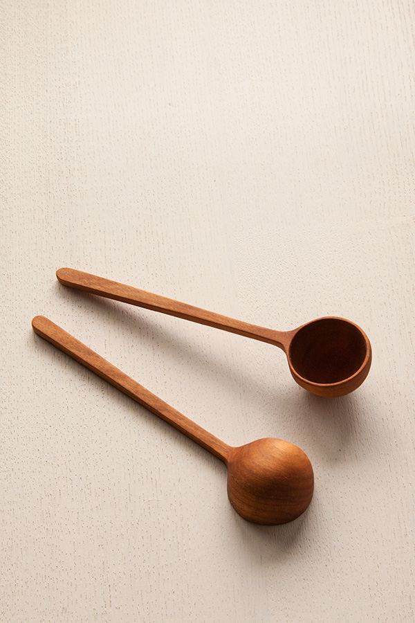 木のコーヒーメジャースプーン1