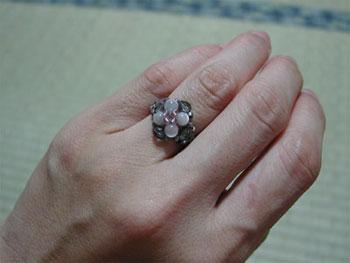ビーズ指輪2