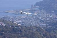 小島機のフライト