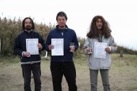 スケールクラス入賞者(左から2位小島さん、石井さん、関田さん)