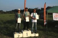 オープンクラス入賞者(優勝高荷選手、2位迎選手、3位天田選手)
