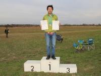 スピードノックアウト・チャンピオンの青木選手