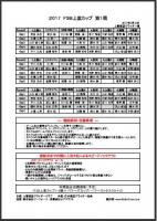 2017 F3B上里カップ第1戦 組み合わせ表