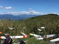 駐機場から富士山2