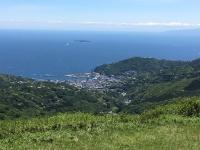 熱海市側、房総半島、大島