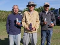 ミニクラス(2位鳥居さん、1位中村さん、3位吉田さん)
