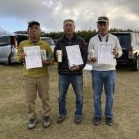ミニクラス入賞者(2位鳥居さん、1位加藤さん、3位吉田さん)
