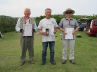 ラダークラス入賞者(2位の田野倉さん、優勝の大塚さん、3位辻さん)