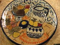 ウリアルテ絵皿