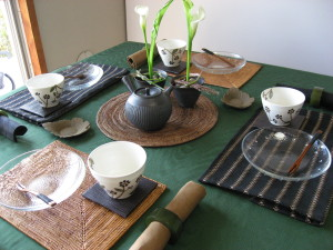 10月のテーブル