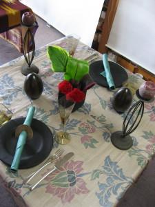 ハードカジュアルなテーブル