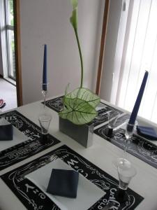 9月のテーブル