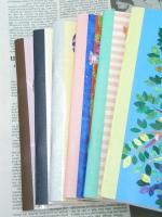 2012年COMOスケジュール帳 背ばり6色