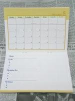 2012年COMOスケジュール帳 中面大イエロー