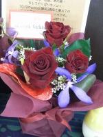Shamlock Garlandさんから3周年祝いのお花☆