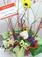 Cheep Cheepさんから3周年祝いのお花☆1