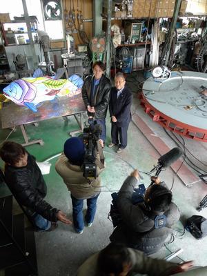 NHK取材 代表インタビュー