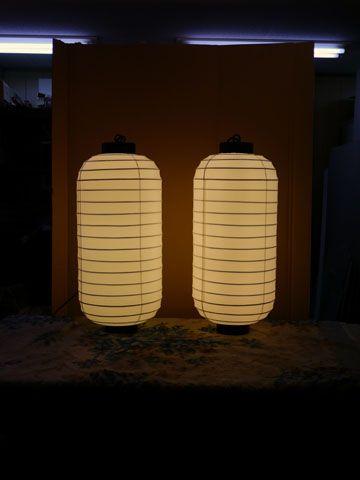 屋外用和風提灯