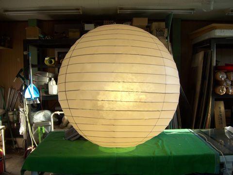 屋外用和風球形提灯
