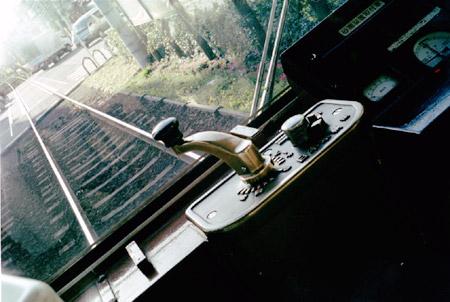 都電 荒川線の運転席