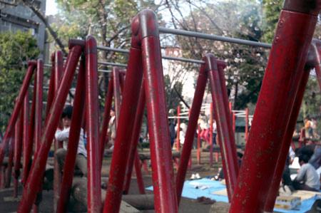 スメナ8の赤と朱