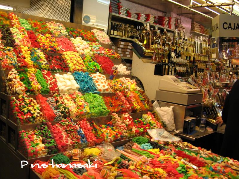 サン・ジョセップ市場 お菓子屋