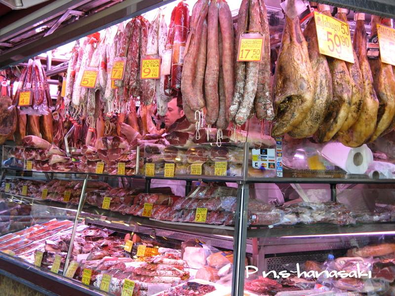 サン・ジョセップ市場 肉屋