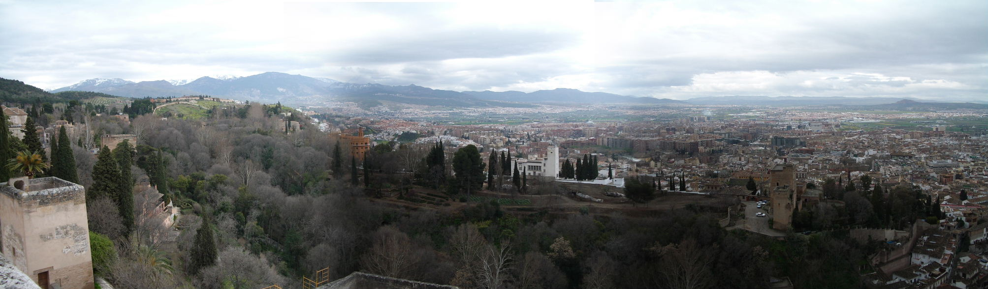 アルカサバからの景色