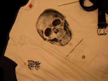 ドクロTシャツ