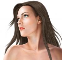 フォトショップで髪の毛の描き方レッスンハウツータブレット