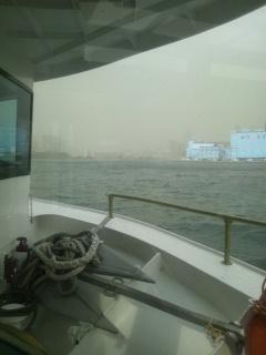 キモノジャック東京 水上バス風景