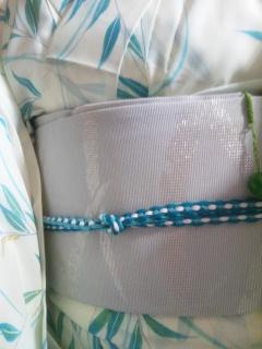 絽の着物と絽の帯