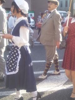 大正時代まつりの衣装