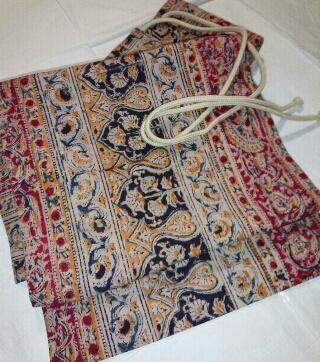 更紗の付け帯帯