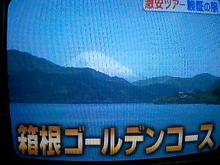 激安ツアー 箱根1