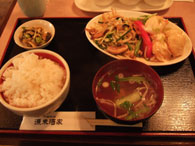 中華『源来酒家』エビマヨ定食(九段下)