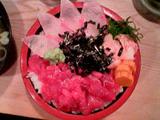 マグロ・カンパチ丼