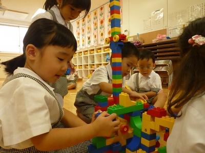22 ブロック遊び!一緒に作るとすごい物が作れるよ☆.JPG
