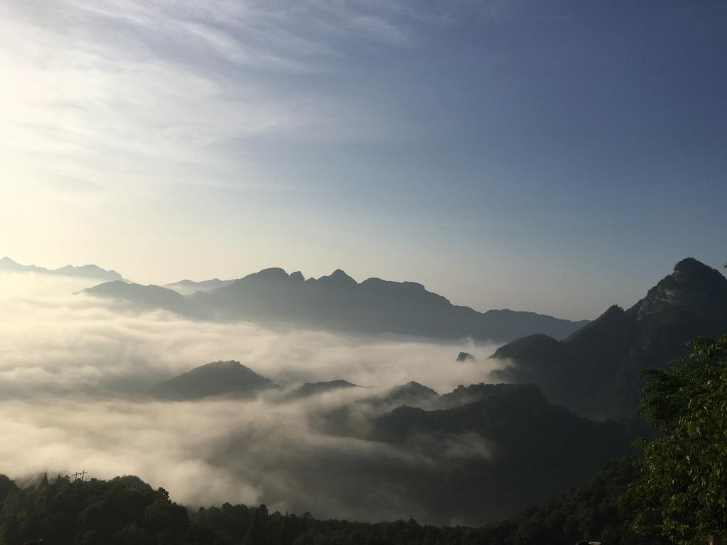 武当山に行ってきます