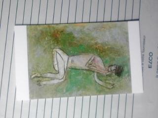 裸婦(草の上)