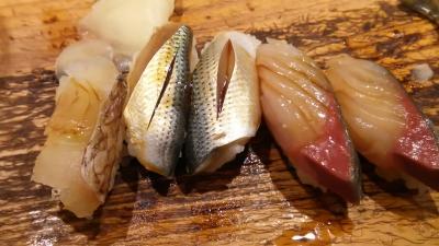新田中、コハダと鯖と真鯛.JPG