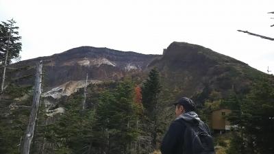 夏沢峠から硫黄岳.JPG