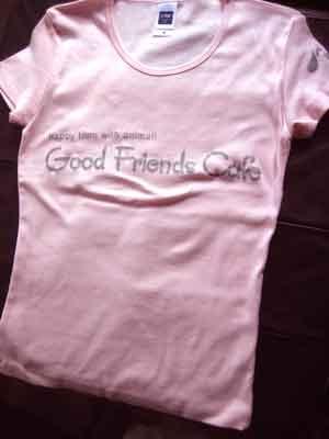 オリジナルTシャツデザイン小ロットプリント作成青葉区カフェスタッフ