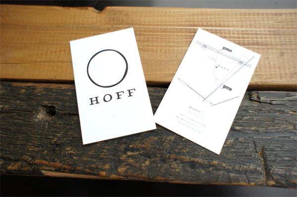 初台カフェショップカード印刷