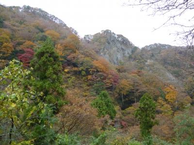 袋田の紅葉