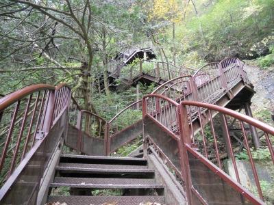 袋田鉄階段