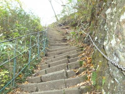 袋田滝石階段