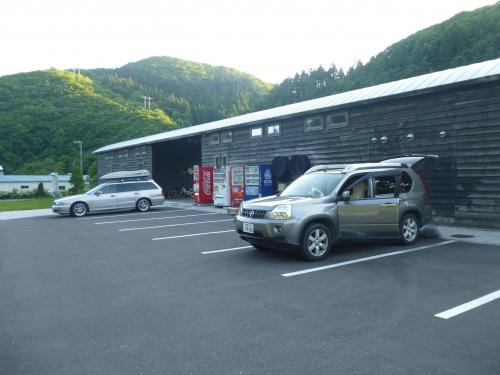 前の駐車場を借りました